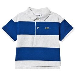 Lacoste Branded Polo Gray