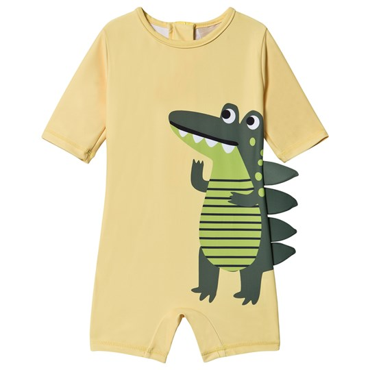 Kuling Croc Uv-Dräkt Banana Yellow