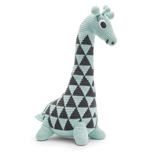 Littlephant Giraffe 65 cm Soft Toy Green Aqua