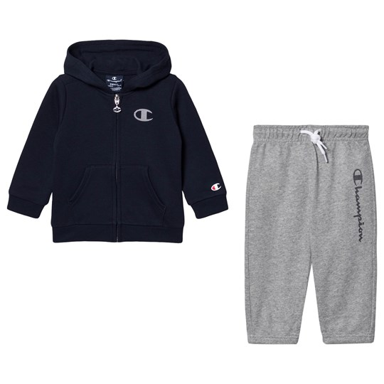 Champion Branded Hoodie Set Navy NNY/OXGM