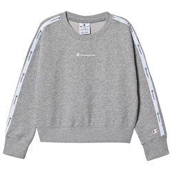 Champion Branded Sweatshirt Grå