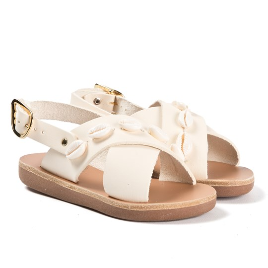 Ancient Greek Sandals Little Maria Sandals Off White Off white