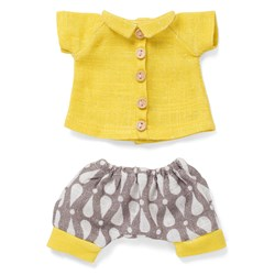 Littlephant Doll Clothes Yellow