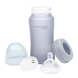 Image of Everyday Baby 240 ml Sutteflaske Quiet Grey One Size (1596874)