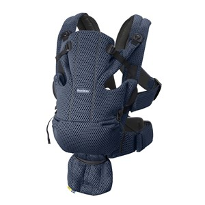 Image of Babybjörn Move 3D Mesh Børneseddel Navy Blå One Size (1580592)