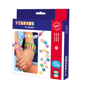 Image of Playbox ABC Beads Armbåndssæt 5+ years (1612374)