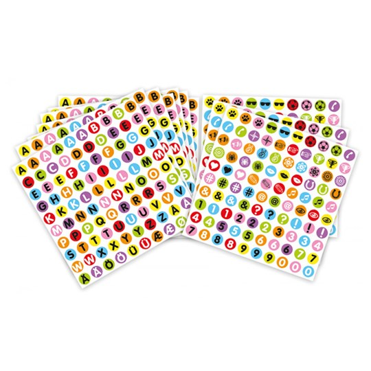 Playbox 1000-Pack Stickers