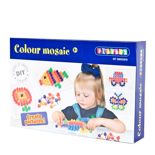 Playbox Craft Set Color Mosaic 120 Pcs