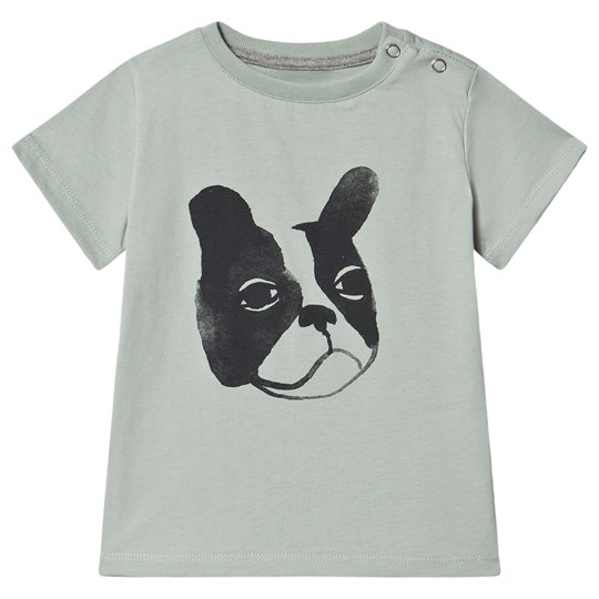 One We Like Bulldog T-Shirt Mineral Gray Mineral Gray