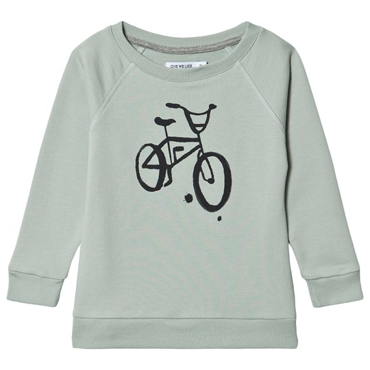 One We Like Bike Sweatshirt Mineral Gray Mineral Gray