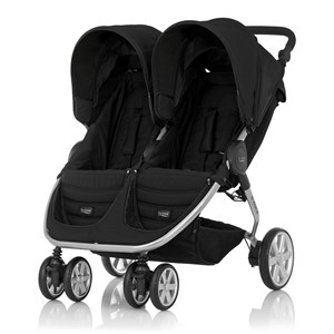 Image of Britax B-Agile Double Klapvogn Cosmos Black One Size (1615514)