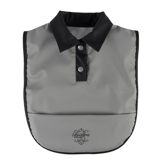 Bjällra of Sweden Bib Gray Black and Grey