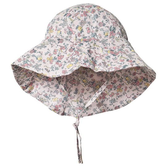 Wheat Sun Hat Multi Flowers 9045 multi flowers