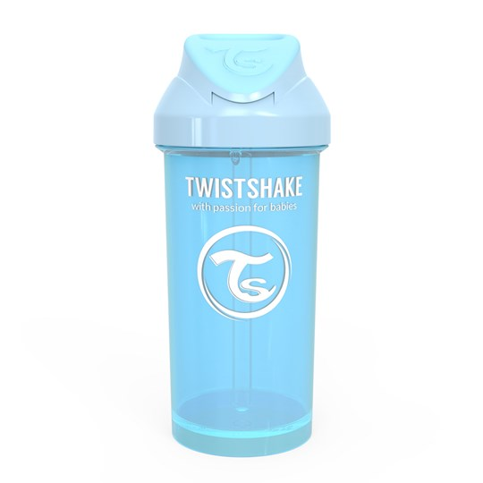 Twistshake 360 ml Straw Cup Pastel Blue Blue