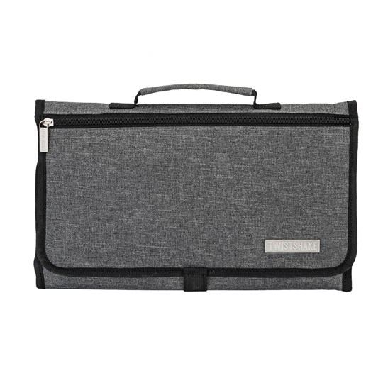 Twistshake Portable Changing Mat Gray Black