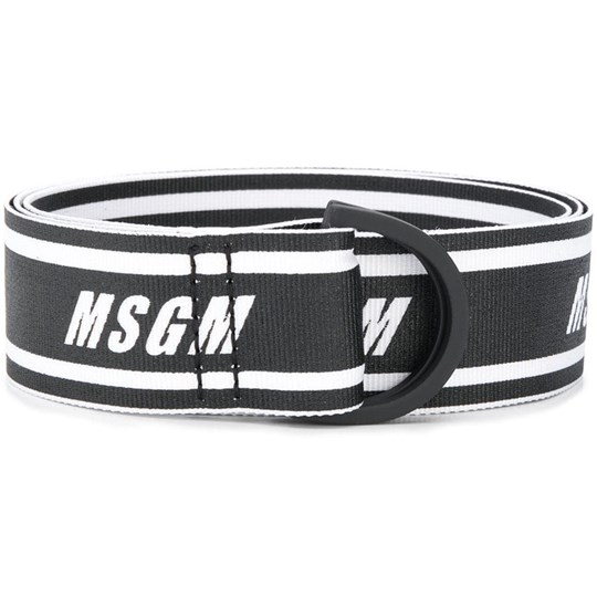 MSGM Logo Belt Black 110