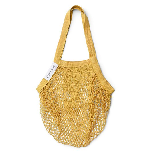 Liewood Mesi Mesh Bag Yellow Mellow Yellow Mellow