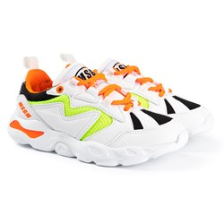MSGM Branded Sneakers White
