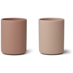 Liewood 2-Pack Ethan Cups Rose