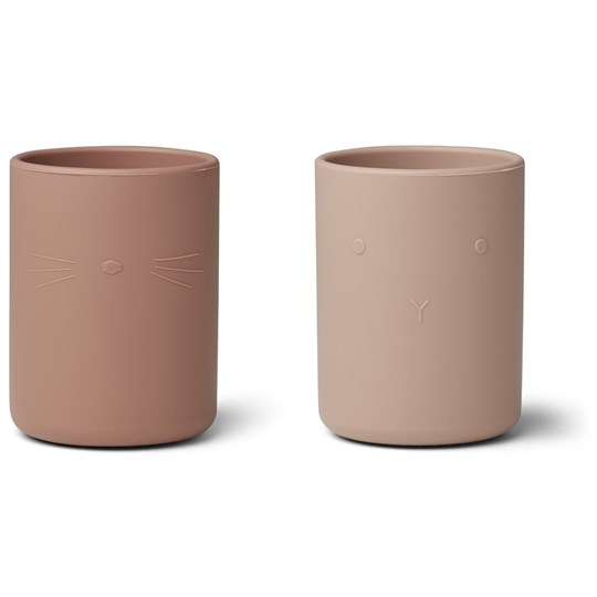 Liewood 2-Pack Ethan Cups Rose Rose mix