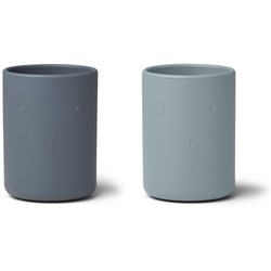 Liewood 2-Pack Ethan Cups Blue