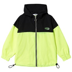 MSGM Branded Track Jacket Neon yellow
