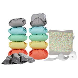 Image of Close Pop-In Gen V2 Reusable Cloth Diaper Box 3.5-16 kg Pastel One Size (1606087)