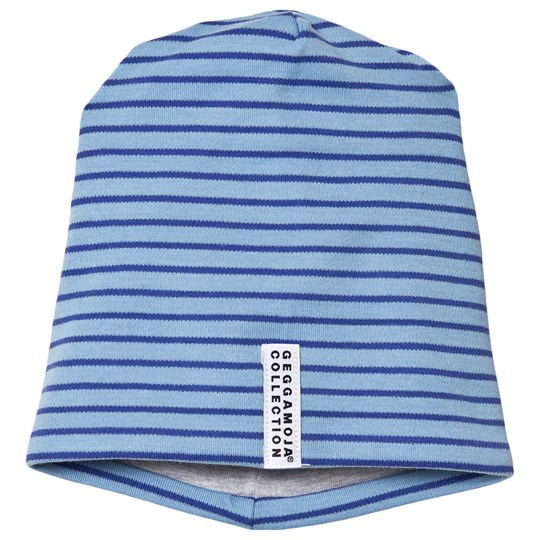Geggamoja Topline Hatt Light Blue / Blue