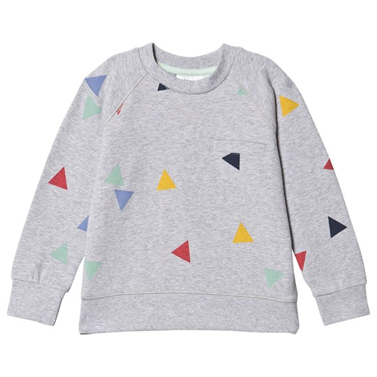 Geggamoja College Sweater Grey Triangle