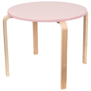Image of SG Furniture Kids Bord Lyserødt One Size (1336046)