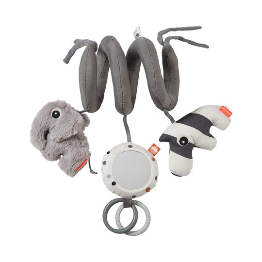 Done by Deer Deer Friends Spiral Activity Toy Gray Black