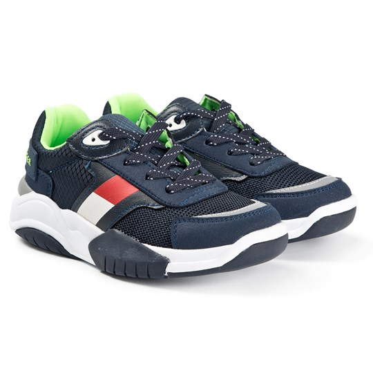 Tommy Hilfiger Fluoro Flag Sneakers Navy 800