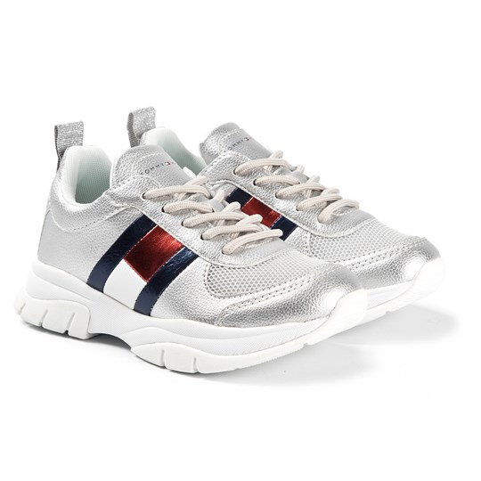 Tommy Hilfiger Metallic Sneakers Silver 904