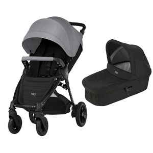 Image of Britax B-Motion 4 Plus Klapvogn Steel Grey/Cosmos Black One Size (1617973)