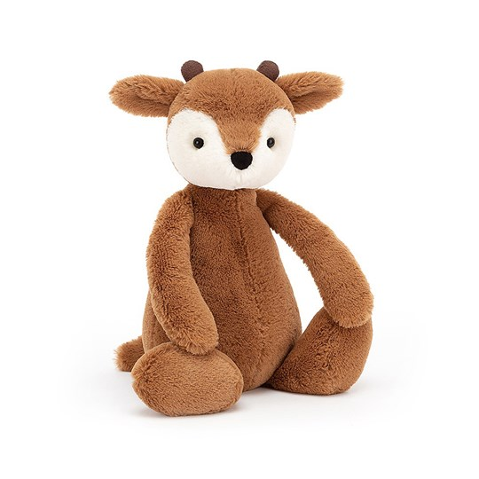 Jellycat Medium Bashful Fawn Soft Toy Brown BROWN