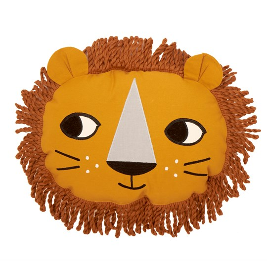 Roommate Lion Cushion Yellow Yellow