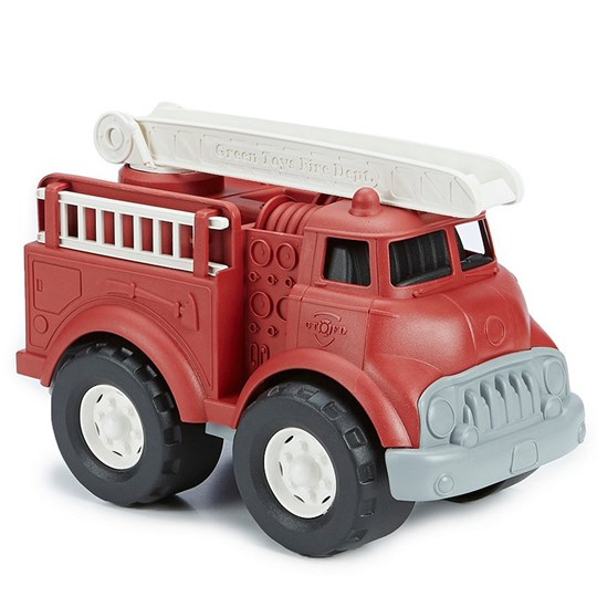 Green Toys Fire Truck Red Red