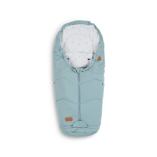 Voksi Move Light Footmuff Pale Blue Reflections Blue