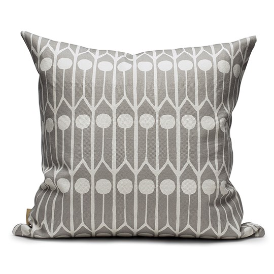 Littlephant 50 x 50 Feathers Cushion Gray Feathers - Grey