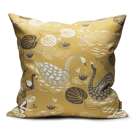Littlephant 50 x 50 Noble Nymphs Cushion Yellow Noble Nymphs - Yellow