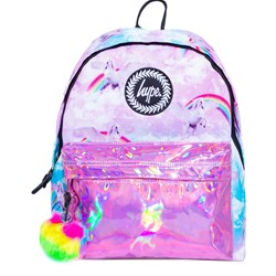 Hype Unicorn Holographic Backpack Pink