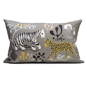 Image of Littlephant 60 x 40 Brilla/Tiger Pude Grå One Size (1576665)