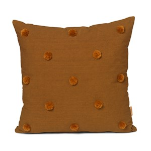 Image of ferm LIVING Dot Tufted Pude Sugar Kelp/Mustard One Size (1581610)