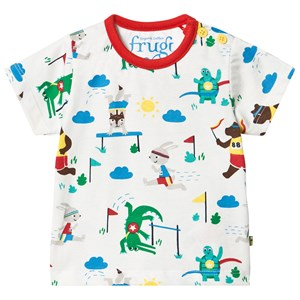Image of Frugi Alby T-shirt On Your Marks 3-6 months (1490293)