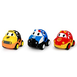 Image of Oball Go Grippers™ Emergency Vehicle Toys 18+ months (1632714)