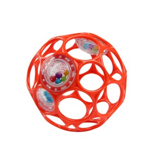 Image of Oball Oball™ Rattle™ Ball Red 0 - 3 months (1632712)