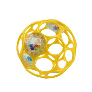 Image of Oball Oball™ Rattle™ Bold Gul 0 - 3 mdr. (1632713)