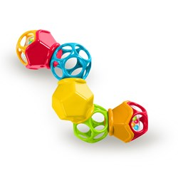 Oball Clicky Twister™ Rattle