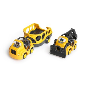 Image of Oball Go Grippers™ John Deere Construction Cruisers™ Sæt 18+ months (1632729)
