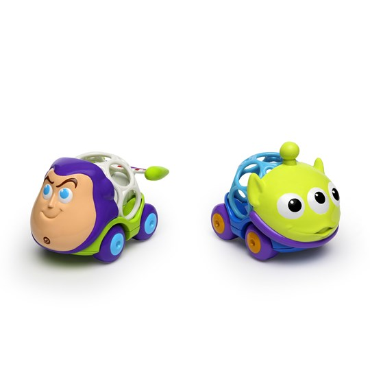 Oball Go Grippers™ Disney Baby Buzz & Alien Vehicle Set Green